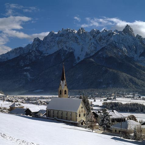 Winter in Toblach