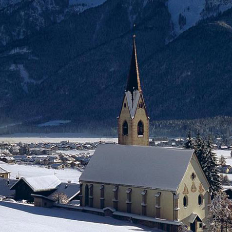 Toblach im Winter