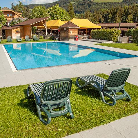Campeggio con piscina in alto adige camping olympia - Camping con piscina ...
