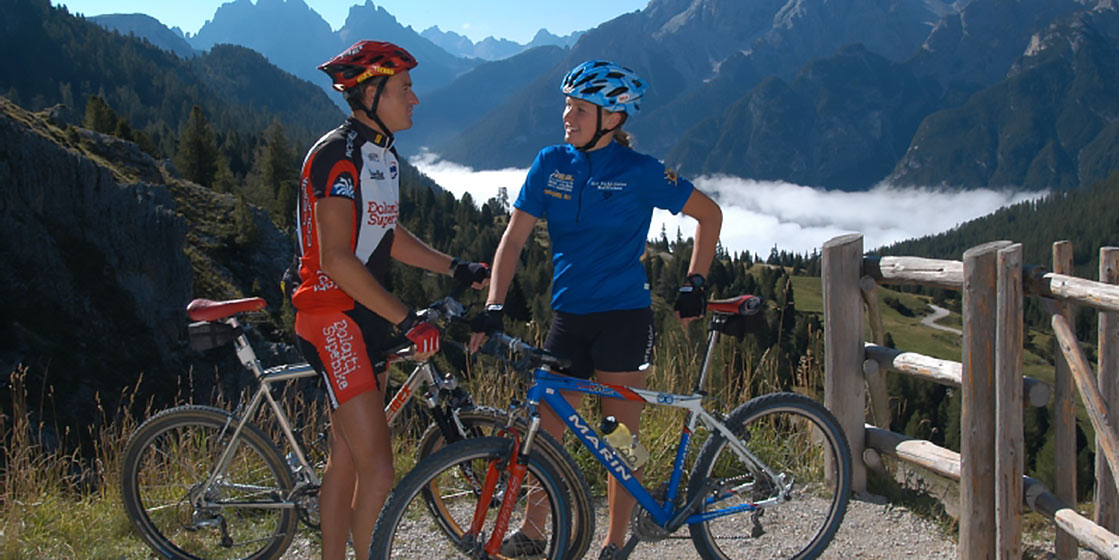 Mountain bike Alta Pusteria